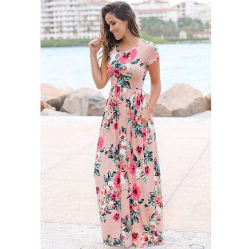 vestido de ver%C3%A3o longo 2 490x490 Vestidos de Verão : Modelos doces e Encantadores, confira