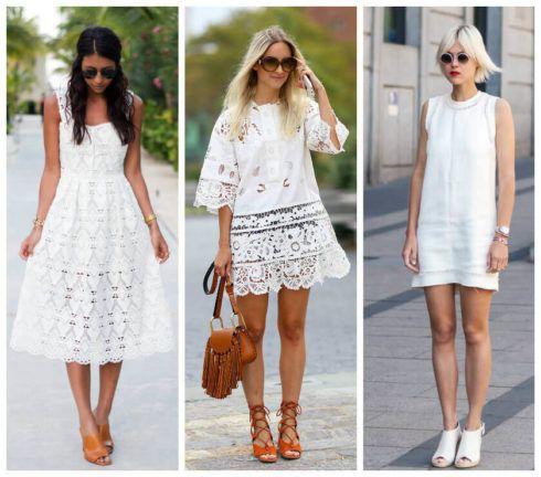 vestido de verao branco 1 490x432 Vestidos de Verão : Modelos doces e Encantadores, confira
