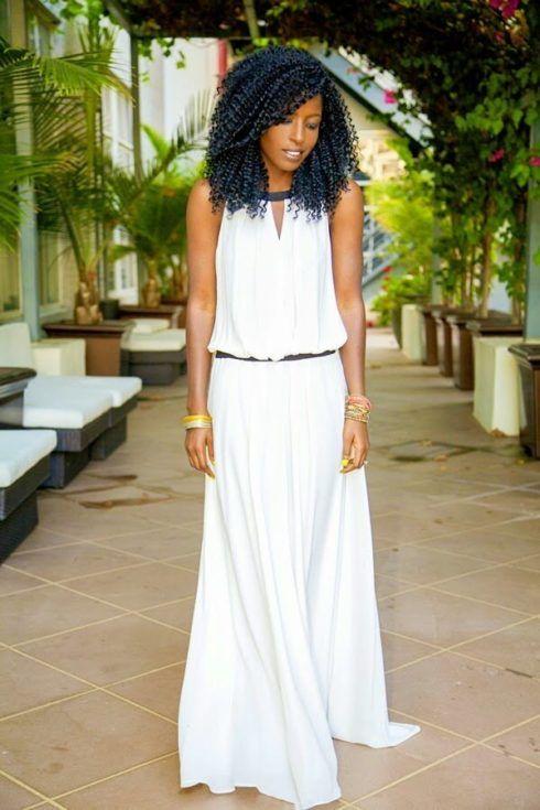 vestido de verao branco 3 490x735 Vestidos de Verão : Modelos doces e Encantadores, confira