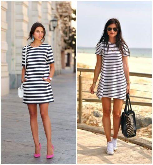 vestido de verao com tenis 2 490x528 Vestidos de Verão : Modelos doces e Encantadores, confira