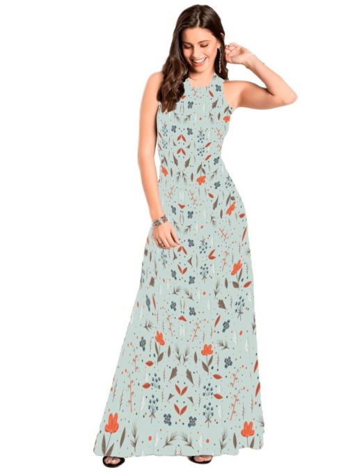 vestidos de ver%C3%A3o longos 490x679 Vestidos de Verão : Modelos doces e Encantadores, confira