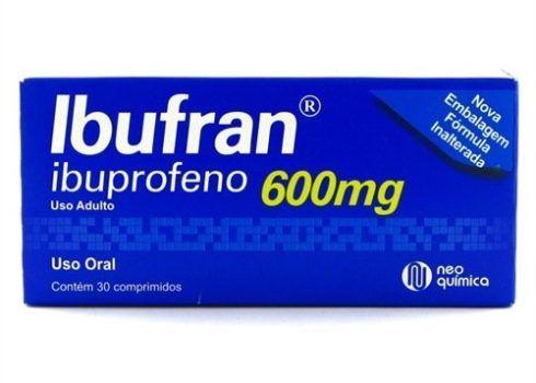 Anti inflamat%C3%B3rio Ibuprofeno 600 mg 490x350 Antiinflamatório para dor no Braço, dor Muscular, Nomes
