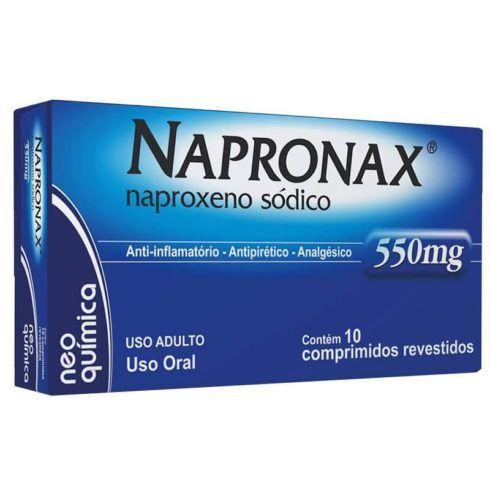 Anti inflamatorio Napronax 490x490 Antiinflamatório para dor no Braço, dor Muscular, Nomes