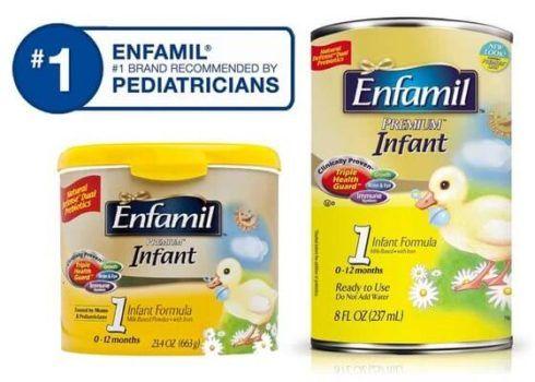 Enfamil 1 2 3 490x350 Tipos de Leite Enfamil Leite Formula para Bebê