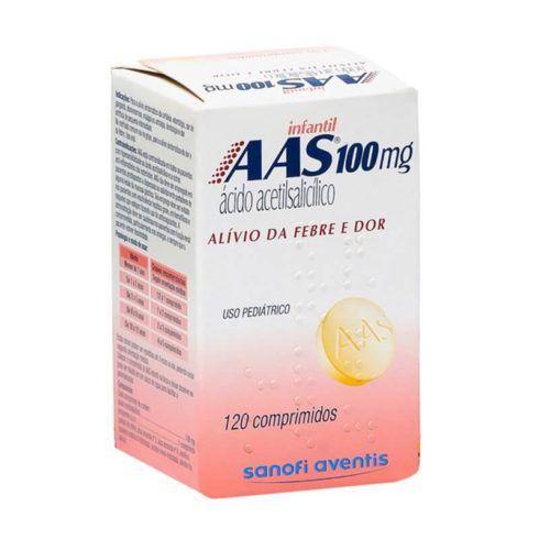 Rem%C3%A9dio AAS 100 mg 490x490 Remédio Infantil para Febre e dor no Corpo, Nomes