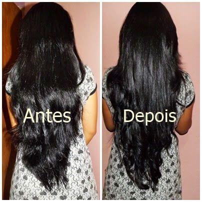 antes e depois umectacao capilar 1 Umectação Capilar para cabelos mais bonitos e Saudáveis
