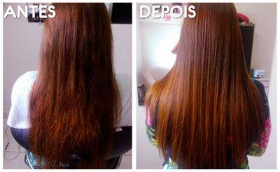 antes e depois umectacao capilar 3 Umectação Capilar para cabelos mais bonitos e Saudáveis