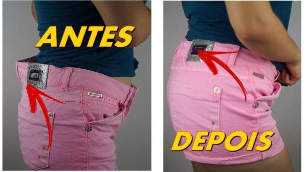 Como Apertar a Cintura de um Shorts Jeans ou de Alfaiataria