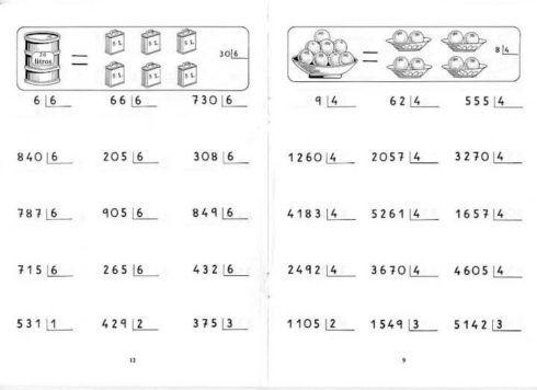 atividades divis%C3%A3o para imprimir 1 490x356 Entendendo Dividendo Divisor resultado e resto, Matemática