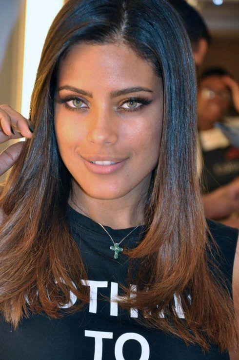 cabelo ombr%C3%A9 hair e morena dourado 490x738 Cabelo Ombré Hair visuais Incríveis e charmosos