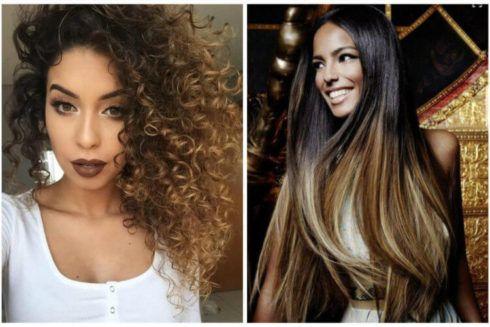 cabelo ombr%C3%A9 hair e morena foto 1 490x327 Cabelo Ombré Hair visuais Incríveis e charmosos