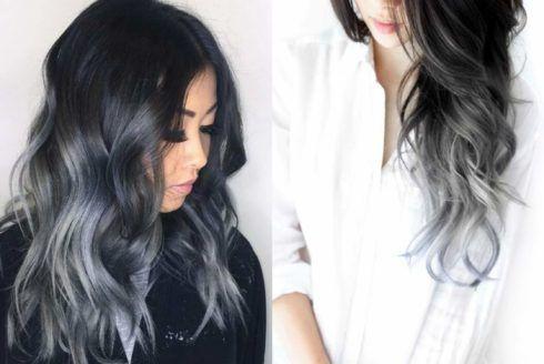 cabelo ombr%C3%A9 hair platinado 6 490x328 Cabelo Ombré Hair visuais Incríveis e charmosos