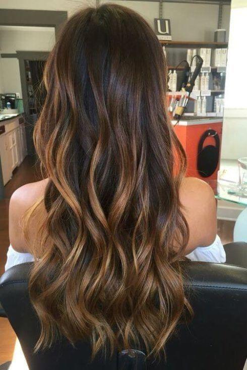 cabelo ombre hair caramelo 1 490x734 Cabelo Ombré Hair visuais Incríveis e charmosos