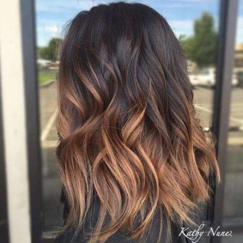 cabelo ombre hair caramelo 2 490x490 Cabelo Ombré Hair visuais Incríveis e charmosos