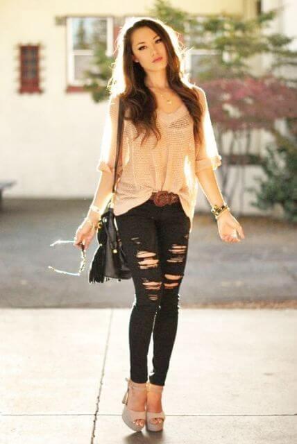 calca e blusinha para balada 1 Roupas Femininas para Balada, Looks, Estilos perfeitos