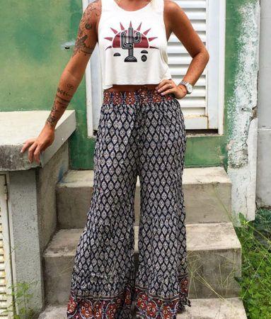 Calça Indiana Feminina Moda Verão, Veja como Usar