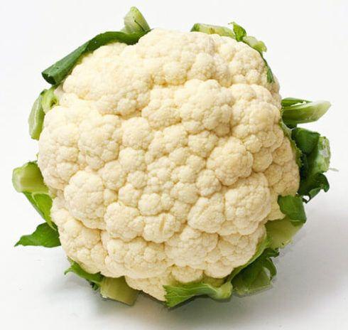 couve flor 490x464 7 Vegetais e Legumes Ricos e Proteína Vegetal, Alimentação Saudável