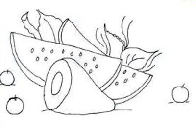 desenho para pintura em pano de prato 1 Moldes de Desenhos para Pintura em Tecido, veja