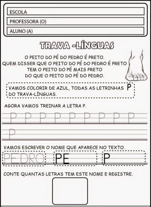 imagem 10 12 490x671 Atividades Trava Língua Infantil para baixar e Imprimir