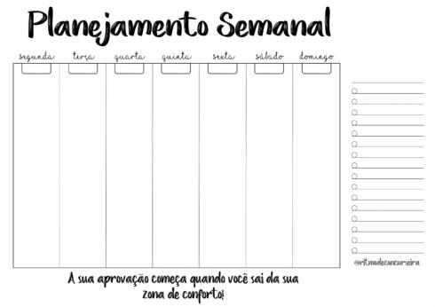 imagem 11 490x346 Tabela de planejamento semanal para Imprimir, Modelos