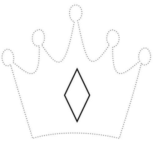 imagem 12 8 490x469 Molde de Coroa para Imprimir, atividades de Artes