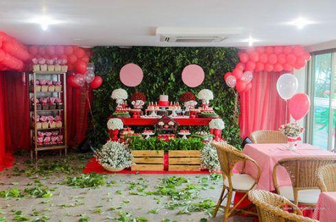imagem 13 4 490x324 Decoração Festa Chapeuzinho Vermelho de Aniversário infantil