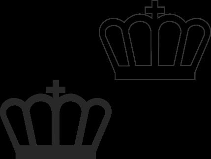 imagem 13 5 Molde de Coroa para Imprimir, atividades de Artes