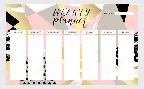 imagem 14 1 490x304 Tabela de planejamento semanal para Imprimir, Modelos