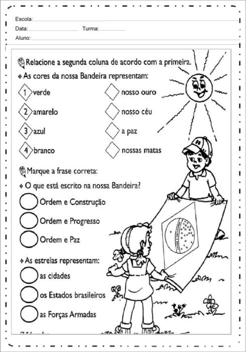 imagem 17 490x702 Atividades da Bandeira do Brasil para Imprimir, confira