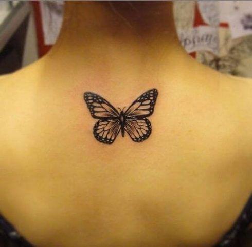 imagem 18 10 490x482 Tatuagem de Borboleta Feminina, Desenhos, partes do Corpo