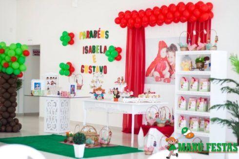 imagem 18 5 490x327 Decoração Festa Chapeuzinho Vermelho de Aniversário infantil