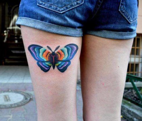 imagem 18 9 490x418 Tatuagem de Borboleta Feminina, Desenhos, partes do Corpo