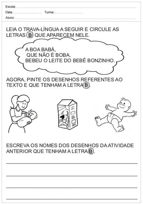 imagem 19 5 490x703 Atividades Trava Língua Infantil para baixar e Imprimir