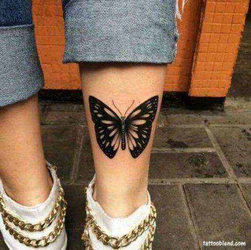 imagem 2 13 490x488 Tatuagem de Borboleta Feminina, Desenhos, partes do Corpo