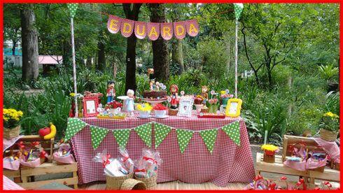 imagem 20 5 490x276 Decoração Festa Chapeuzinho Vermelho de Aniversário infantil