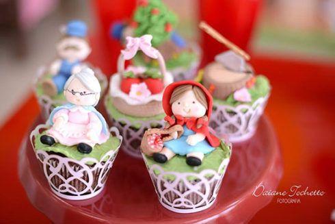 imagem 21 2 490x327 Decoração Festa Chapeuzinho Vermelho de Aniversário infantil