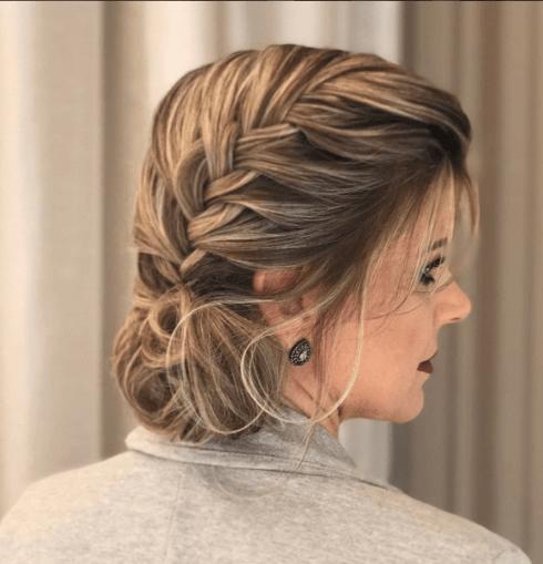 Penteados Para Cabelo Curto Para Formatura E Casamento