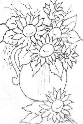 imagem 3 17 Moldes de Desenhos para Pintura em Tecido, veja