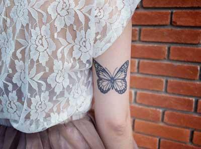 imagem 3 34 Tatuagem de Borboleta Feminina, Desenhos, partes do Corpo
