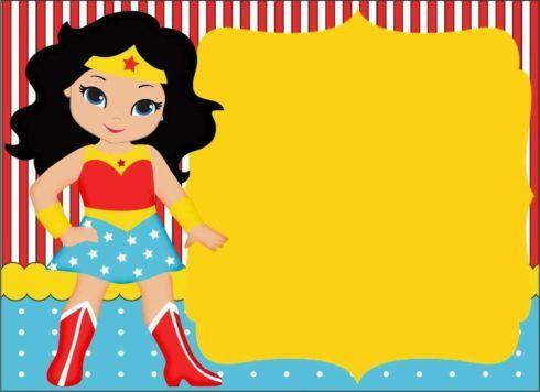 imagem 4 22 490x356 Festa de Aniversário Mulher Maravilha para Meninas, Conheça
