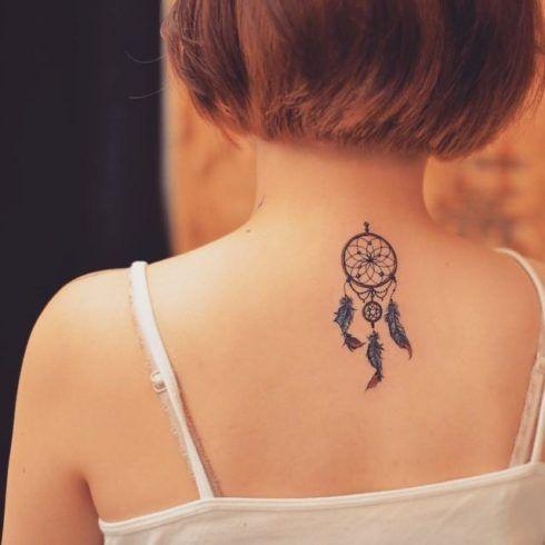 imagem 4 32 490x490 Tatuagem Filtro dos Sonhos Feminina em diversas partes do corpo