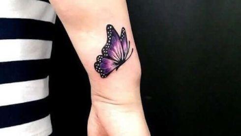 imagem 4 68 490x278 Tatuagem de Borboleta Feminina, Desenhos, partes do Corpo
