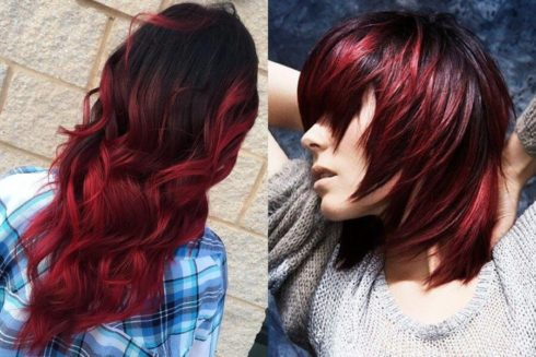 imagem 40 1 490x327 Cabelo Ombré Hair visuais Incríveis e charmosos