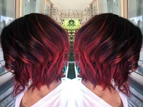 imagem 41 1 490x368 Cabelo Ombré Hair visuais Incríveis e charmosos