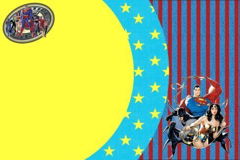 imagem 5 20 490x327 Festa Infantil de Aniversário Liga da Justiça como Decorar com Esse Tema