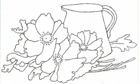 imagem 5 38 490x294 Moldes de Desenhos para Pintura em Tecido, veja