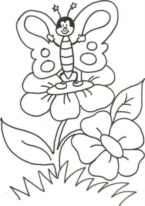 imagem 5 39 490x695 Moldes de Desenhos para Pintura em Tecido, veja