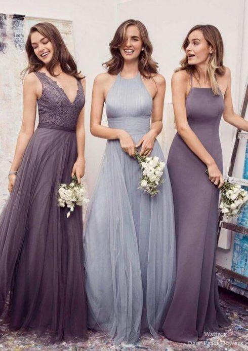 imagem 5 43 490x692 Vestidos para Madrinha de Casamento 2019 2020, Jeitos de usar