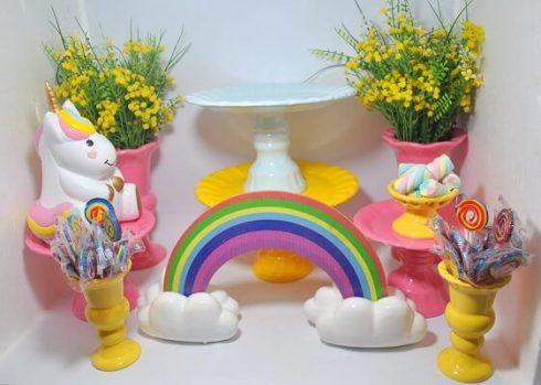 imagem 5 48 490x349 Decoração festa Unicórnio para Aniversário Infantil, ideias