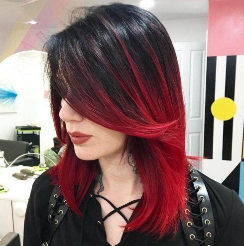 imagem 5 490x494 Cabelo Ombré Hair visuais Incríveis e charmosos